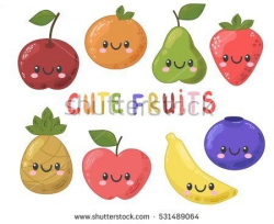 Cute Blueberry Clipart - ClipartUse