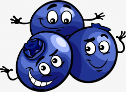 Blueberry, Cartoon, Lovely, Cute PNG Image and Clipart for Free Download