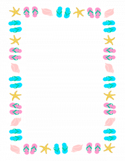 Summer Page Border Clipart Clipart Panda Free Clipart Images | Nyár ...