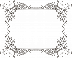 28+ Collection of Vintage Wedding Border Clipart | High quality ...
