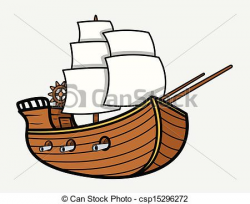 28+ Collection of Easy Old Ship Drawing | High quality, free ...