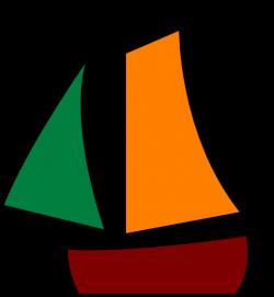 Sailing Boat White Clip Art at Clker.com - vector clip art online ...
