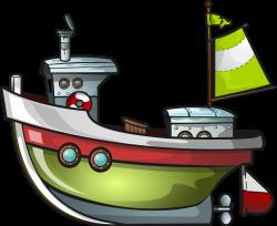 Free Green Boat Clip Art | Winter Holiday decor! | Pinterest | Clip ...