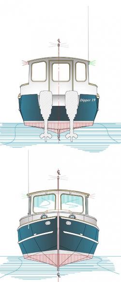 Dipper 19 – Devlin Designing Boat Builders | zelfbouw motor cruisers ...