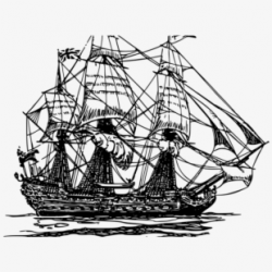 Free Vector Old Ship Clip Art - Old Ship Vector Png #77833 ...