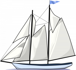 Sail Boat Silhouette at GetDrawings.com | Free for personal use Sail ...