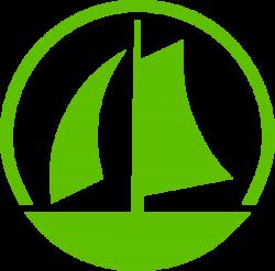 Green Sail Boat Clip Art at Clker.com - vector clip art online ...