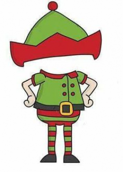 Christmas elf holding a blank sign. | Christmas Clip Art | Pinterest ...