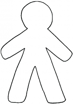 Body Outline Clipart - cilpart