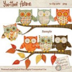 Digital Owl Clip Art, Boho Owl ClipArt, Nursery Art, boy baby shower ...