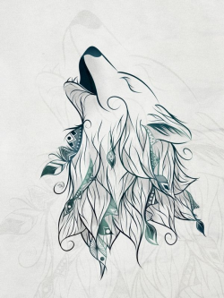 21 best Tattoo images on Pinterest | Wolves, Tattoo ideas and Husky ...