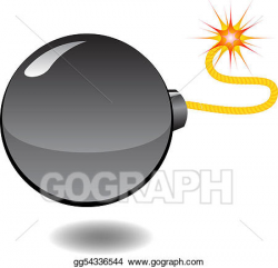 Vector Art - Bomb - series of cartoon bombs. Clipart Drawing ...
