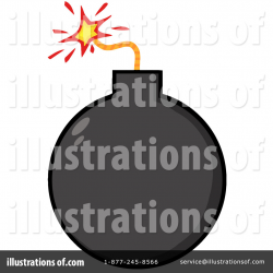 Bomb Clipart #1092079 - Illustration by Hit Toon