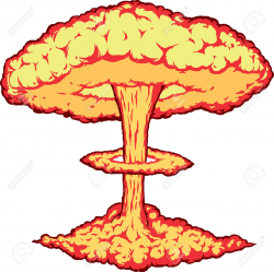 Nuclear Explosion Clipart