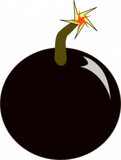 Clipart - bomb
