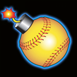 Softball Bomb Clipart