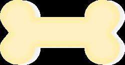 Clipart - Dog Bone