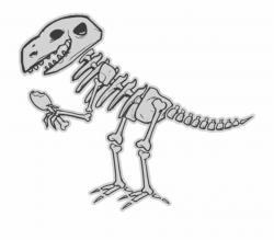 Dinosaur Bones Clipart - Cartoon Dinosaur Bones Png ...