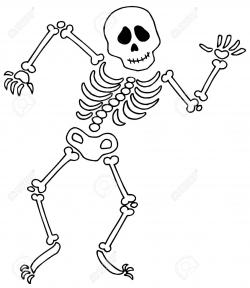 Skeleton Bones Clipart