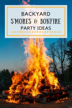 Ideas For Hosting A S'mores And Bonfire Backyard Party   Glitter 'N ...