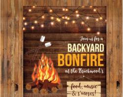 Bonfire bbq   Etsy