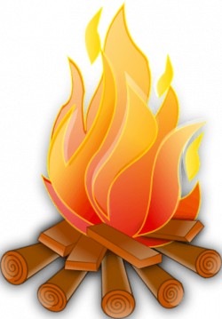 Beach bonfire clipart - Clip Art Library