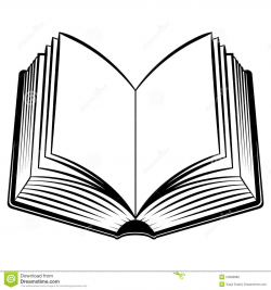 Open Book Clip Art Black And White | Clipart Panda - Free Clipart Images
