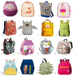 Best Small Backpacks for Toddlers & Preschoolers | Apartment Therapy