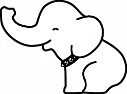 Pin Elephant Outline on Pinterest | tattoo | Pinterest | Outlines ...
