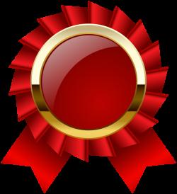 Award Rosette Ribbon PNG Clipar Image | Web Elements & Interfaces ...