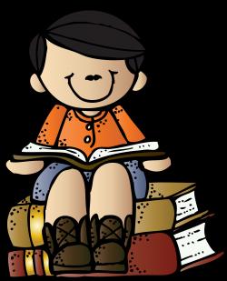 Melonheadz Writing Boy on books c melonheadz | Clipart: Boy Theme ...