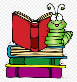 Bookworm Clipart - Bookworm Clipart Png Transparent Png ...
