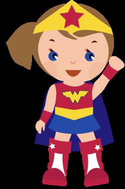 Superhero girl super hero clip art free clipart images clipartcow ...