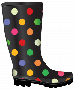Dotted Rubber Boots. | Rain Boots and Rubber Products | Pinterest ...