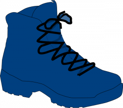Dark Blue Boot Clip Art at Clker.com - vector clip art online ...