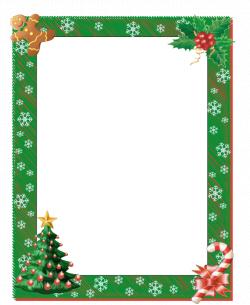 Christmas borders free printable boarders christmas border free page ...