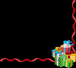 christmas gift border clipart - Ideal.vistalist.co