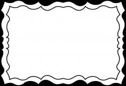 Simple Black Frame Png. Black Border Simple Frame Png W - Brint.co