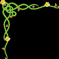 Spring Clip Art Borders | craft get ideas