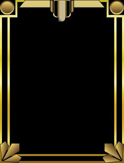 Clipart - Art Deco Border 2