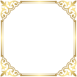 Gold Border Clipart - clipart