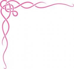 scroll clip art borders free | Scroll Ribbon Border clip art ...
