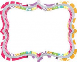 Free Frames and Borders-- all very happy and cute | School ...