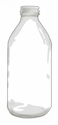 Clear Bottle Clip Art at Clker.com - vector clip art online, royalty ...