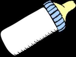 Baby Blue Bottle Clip Art at Clker.com - vector clip art online ...