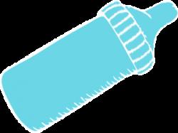 Baby Bottle Tiffany Blue Clip Art at Clker.com - vector clip art ...