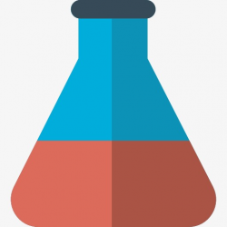 A Chemical Bottles, Glass Bottles, Cartoon, Chemistry PNG Image and ...