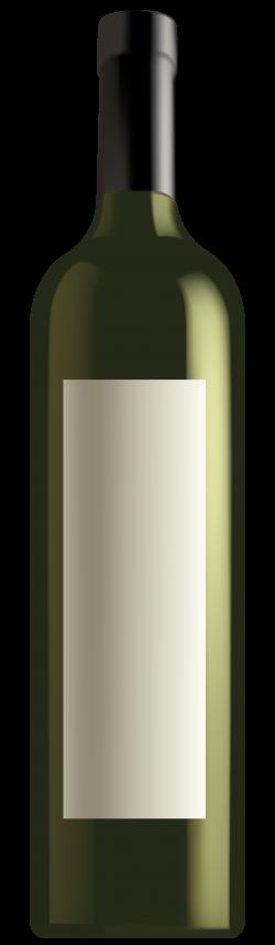 Green Wine Bottle PNG Clipart - Best WEB Clipart
