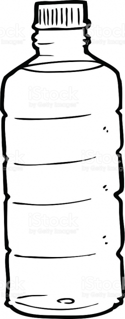 Bottle clipart line drawing - Pencil and in color bottle clipart ...