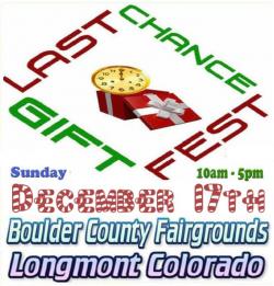 Last Chance Gift Fest | Boulder County Fairgrounds | Craft Fairs ...